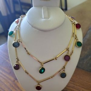"Vintage Swarovski 36"" necklace"